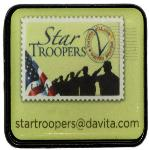 Full Color Express Pin SQUARE ROUNDED CORNERS