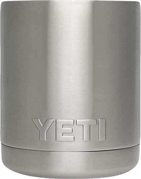 Plain Yeti Rambler lowball, but you can engrave your design at Monarch Trophy Studio San Antonio