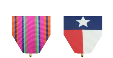 Exclusive Fiesta Medal Drapes offered by Monarch Trophy San Antonio