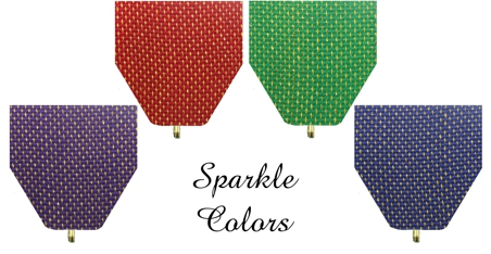 Multiple Sparkle Color Drapes for Fiesta Medals by Monarch Trophy Studio San Antonio
