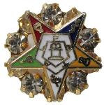 Order of the Eastern Star Grand Chapter Jewel pin