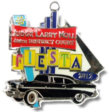 2012 Judge Larry Noll Fiesta Medal