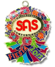2012 SAS Comfort Shoes Fiesta Medal