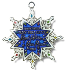2013 Jimmy Green Rey Feo Royal Holiday River Parade Medal