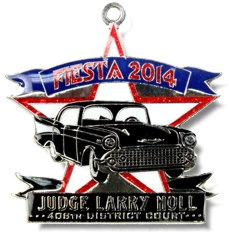 2014 Judge Larry Noll Fiesta Medal
