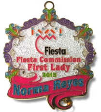 2015 Fiesta Commission First Lady Fiesta Medal