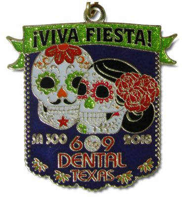 2018 Six to Nine 6to9 Dental Custom Fiesta Medal by Monarch Trophy & FiestaMedalsSA.com