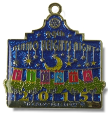 Alamo Heights Fiesta Medal