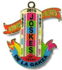 Joskes of Texas 2015 Fiesta Medal
