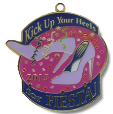 Kick Up Your Heels 2015 Fiesta Medal