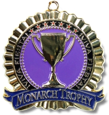 MTS Awards San Antonio Purple Fiesta Medal