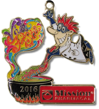 Mission Pharmacal 2016 Award Winning Fiesta Medals by MTSawards.com