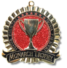 Monarch Trophy Studio San Antonio Fiesta Medal