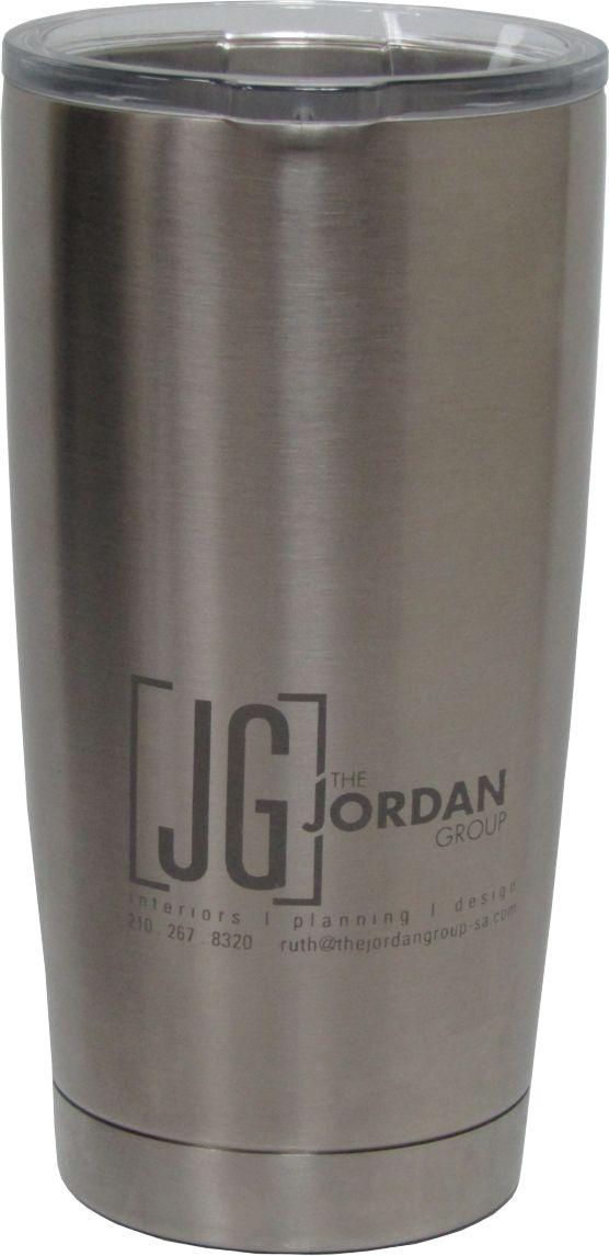 20oz Yeti Rambler Tumbler Sandblast Engraving design by Monarch Trophy Studio San Antonio