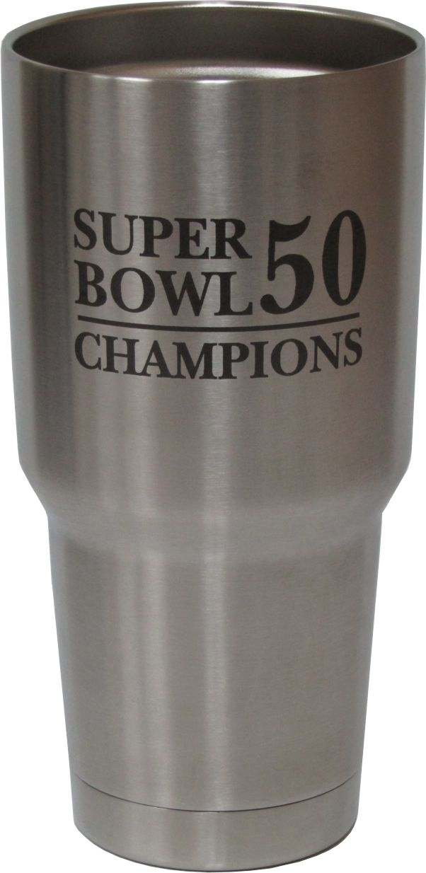 30oz Super Bowl Champs Yeti Rambler Tumbler Laser Engraving designed by Monarch Trophy Studio San Antonio